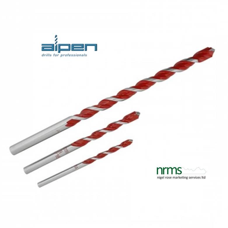 Alpen Hardplate Drill Bits