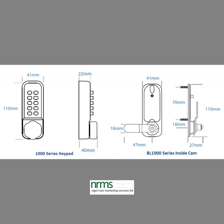 Borg Locks BL1506 with Internal Cam Mechanism