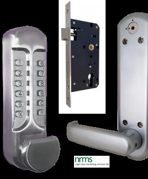 Borg Locks BL7103 supplied with Euro Profile Lockcase