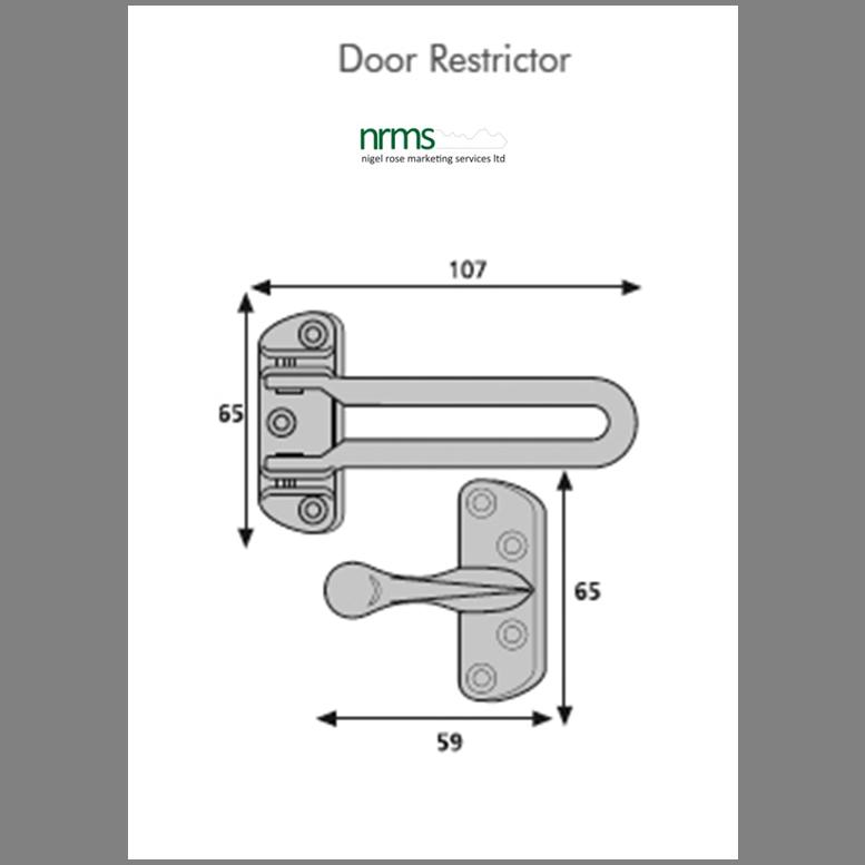 ERA 789 Door Bar Restrictor
